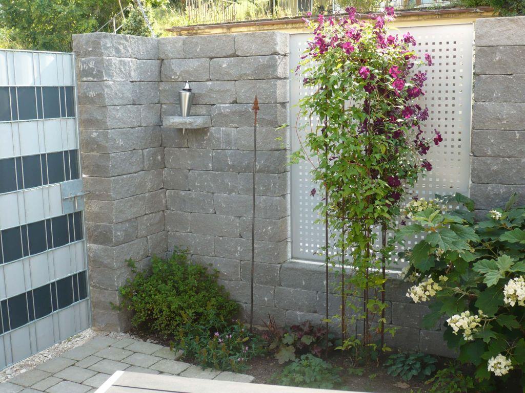 Zaunbau Sichtschutzwande